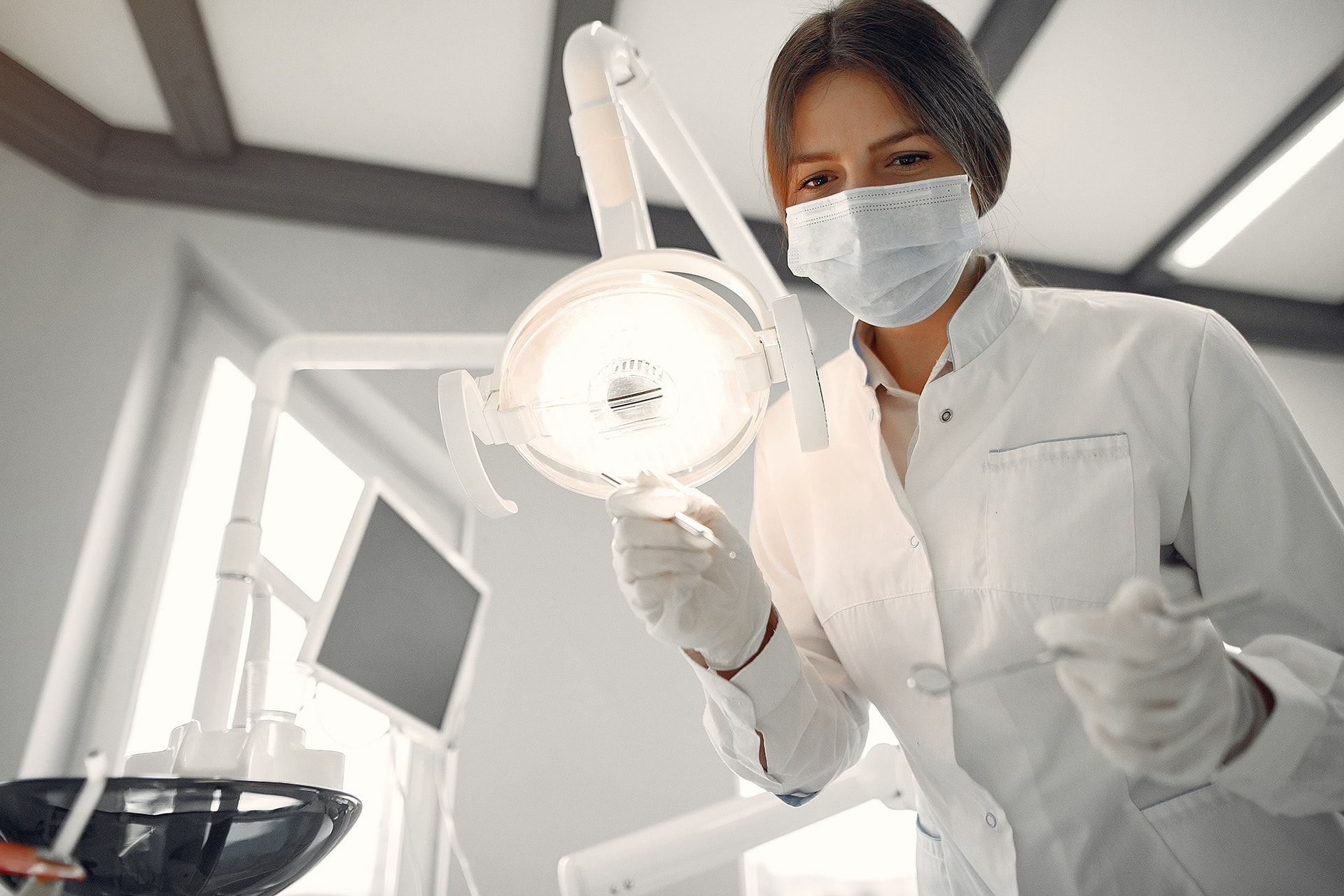 How should I care for my mouth after a tooth extraction?